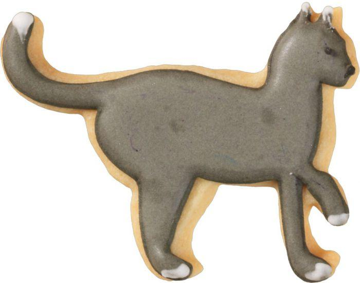 Cat Walking 6.5cm Cookie Cutter-Cookie Cutter Shop Australia