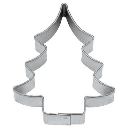 Christmas Fir Tree 13cm Cookie Cutter-Cookie Cutter Shop Australia