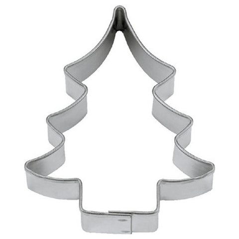 Christmas Fir Tree 9cm Cookie Cutter-Cookie Cutter Shop Australia
