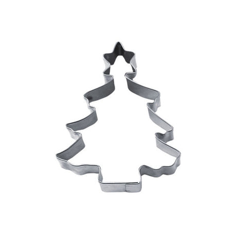 Christmas Tree with Star 6cm Cookie Cutter-Cookie Cutter Shop Australia