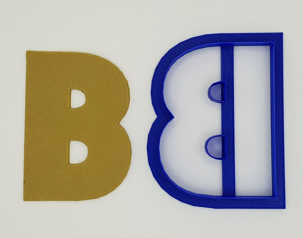 Chunky Alphabet Letter B 9.5cm Cookie Cutter