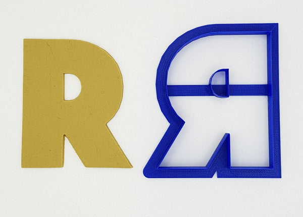 Chunky Alphabet Letter R 9.5cm Cookie Cutter