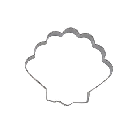 Clam Shell 6.5cm Cookie Cutter-Cookie Cutter Shop Australia