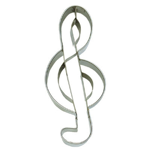 Treble Clef Music Symbol Cookie Cutter-Cookie Cutter Shop Australia
