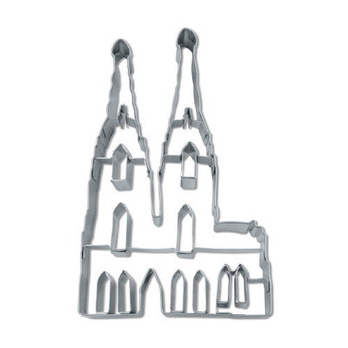 Cologne Cathedral 11cm Cookie Cutter-Cookie Cutter Shop Australia