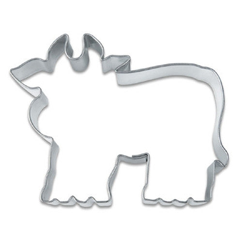 Cow 6.7cm Cookie Cutter-Cookie Cutter Shop Australia