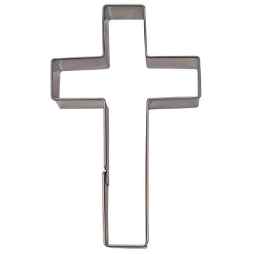 Crucifix Cross 9cm Cookie Cutter-Cookie Cutter Shop Australia