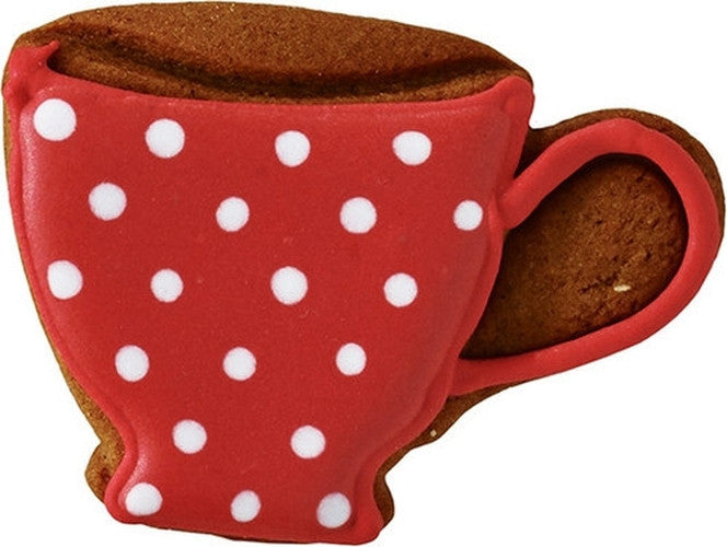 Cup with Detail 6.5cm Cookie Cutter-Cookie Cutter Shop Australia