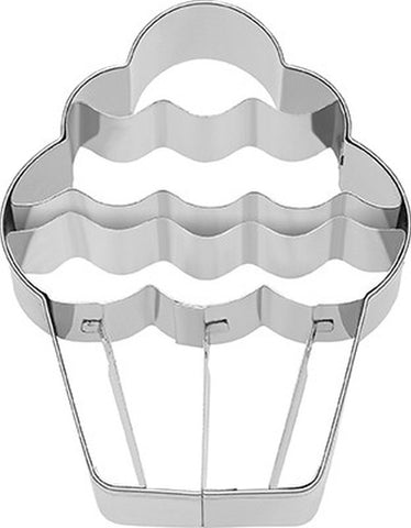 Cupcake with Internal Detail 9cm Cookie Cutter-Cookie Cutter Shop Australia