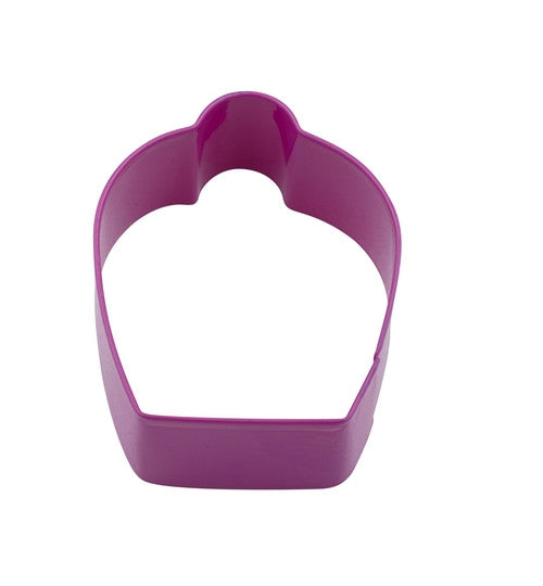 Cupcake 7cm Pink Cookie Cutter-Cookie Cutter Shop Australia