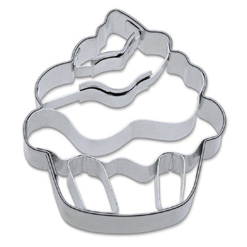 Cupcake with Embossed Detail Cookie Cutter-Cookie Cutter Shop Australia