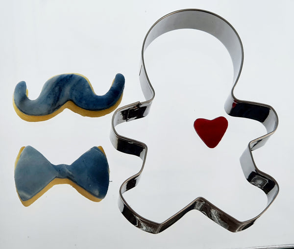 Fathers Day Pack 'Decorate Dad' Cookie Cutter Set 4 Pieces