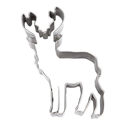 Deer with Antlers 7cm Cookie Cutter-Cookie Cutter Shop Australia