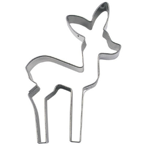 Deer 7cm Cookie Cutter-Cookie Cutter Shop Australia