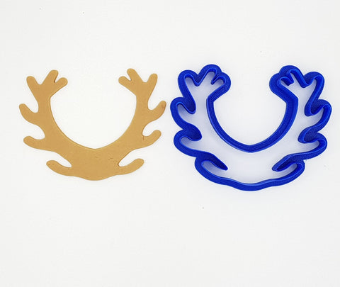 Deer Antlers 11cm Cookie Cutter-Cookie Cutter Shop Australia