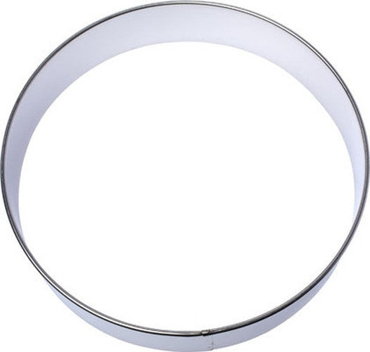 20cm Round Dessert and Food Ring Cookie Cutter-Cookie Cutter Shop Australia