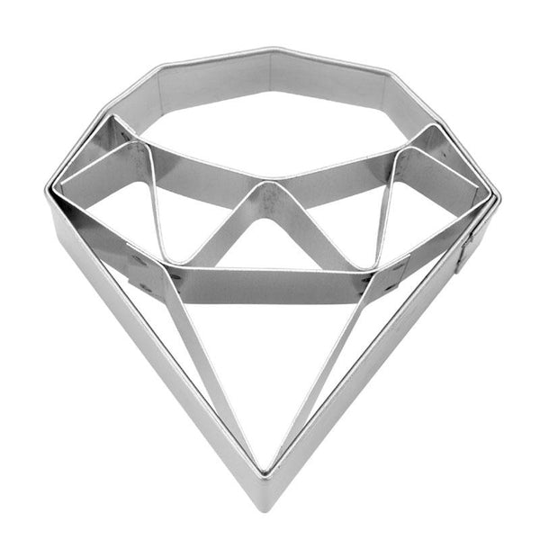 Diamond Small With Internal Detail 5cm Cookie Cutter-Cookie Cutter Shop Australia