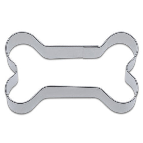 Dog Bone 6cm Cookie Cutter-Cookie Cutter Shop Australia