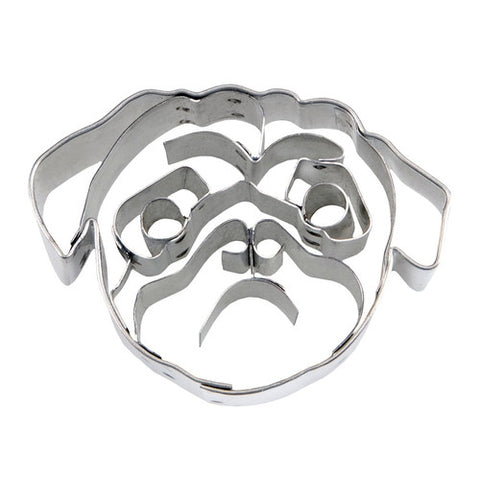 Dog Face 5.5cm Cookie Cutter-Cookie Cutter Shop Australia