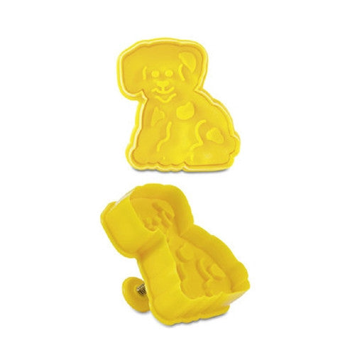 Dog Plastic Embossed 6cm Cookie Cutter-Cookie Cutter Shop Australia