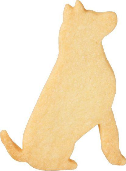 Dog Sitting 7.5cm Cookie Cutter-Cookie Cutter Shop Australia