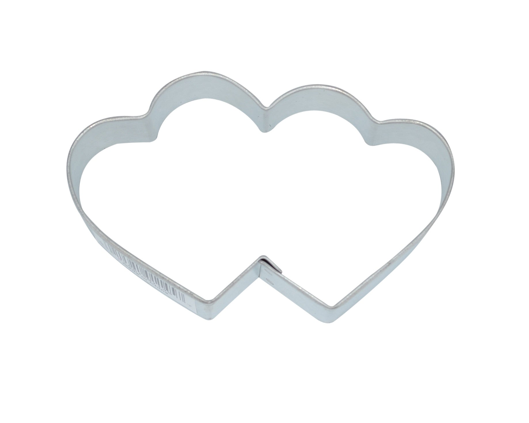 Heart Double 9.5cm Cookie Cutter-Cookie Cutter Shop Australia