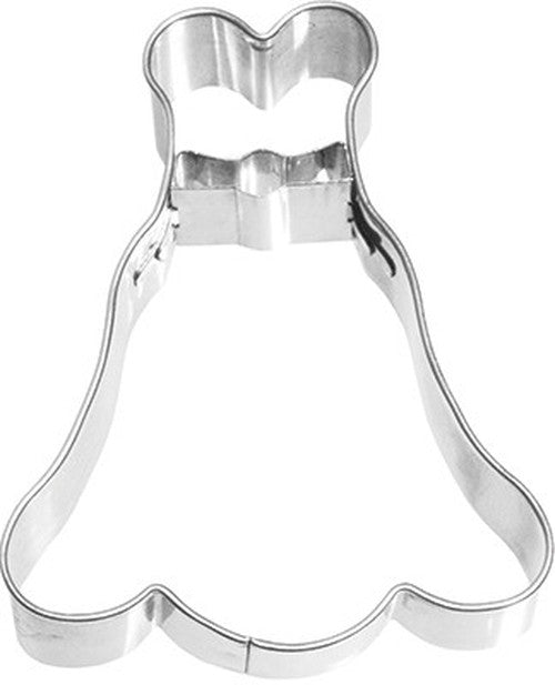 Dress with Waist Detail 7cm Cookie Cutter-Cookie Cutter Shop Australia