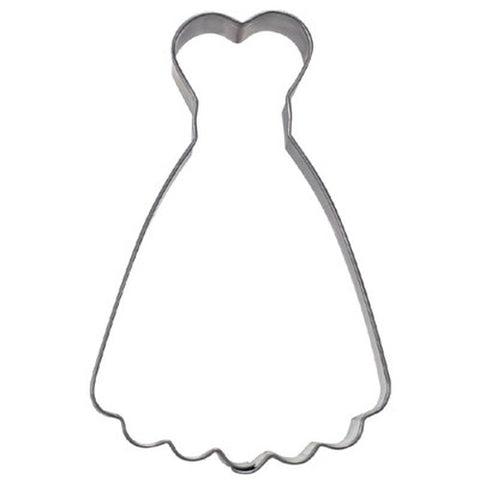 Dress Cookie Cutter 9cm | Cookie Cutter Shop Australia