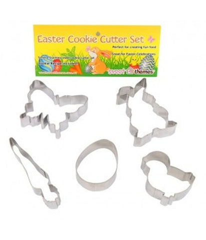Easter Cookie Cutter 6-10cm Set of 5-Cookie Cutter Shop Australia
