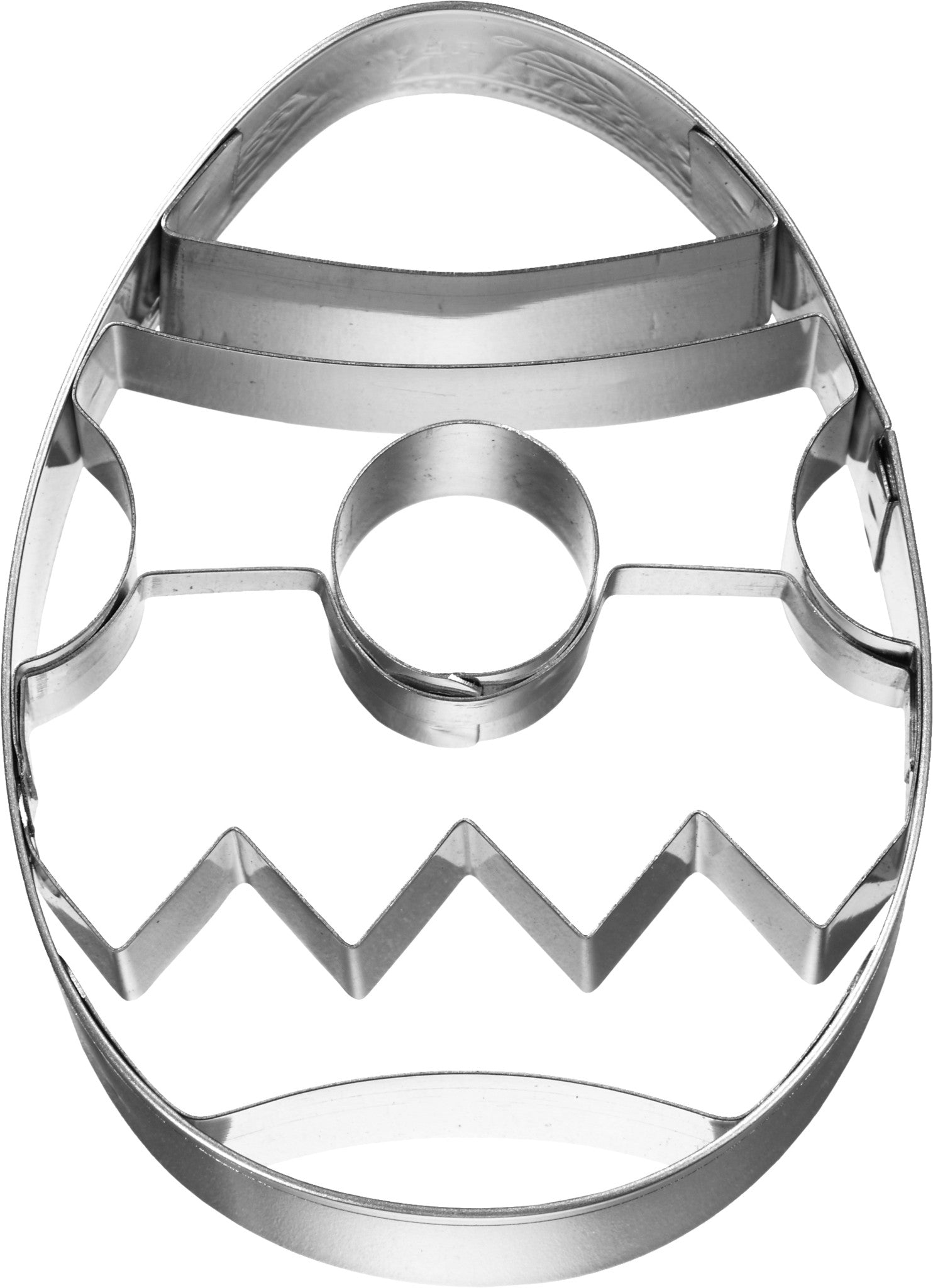 Easter Egg 8cm With Internal Detail 2 Cookie Cutter-Cookie Cutter Shop Australia