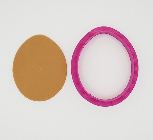 Egg 8cm Cookie Cutter-Cookie Cutter Shop Australia