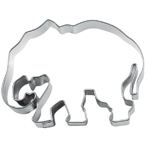 Elephant 7cm Cookie Cutter-Cookie Cutter Shop Australia