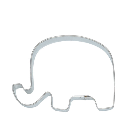 Republican Elephant Tin Plate 7cm Cookie Cutter-Cookie Cutter Shop Australia