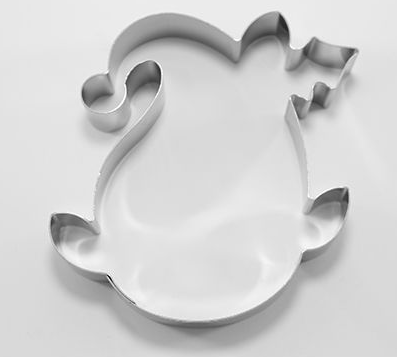 Christmas Elf Cookie Cutter 9cm | Cookie Cutter Shop Australia