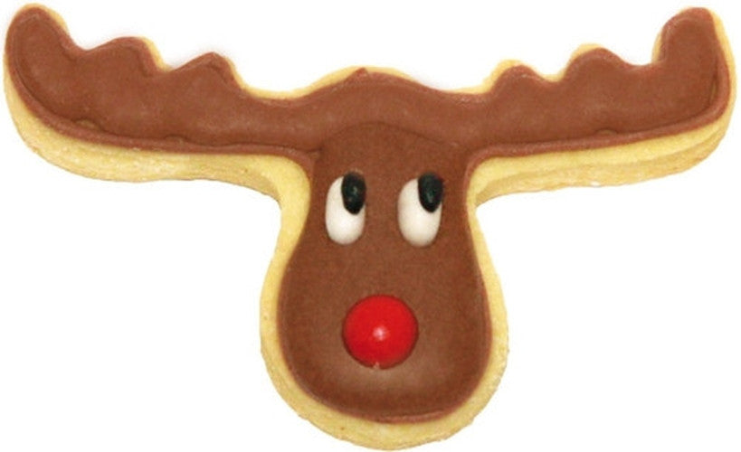 Moose Elk Reindeer Head 7cm Cookie Cutter-Cookie Cutter Shop Australia