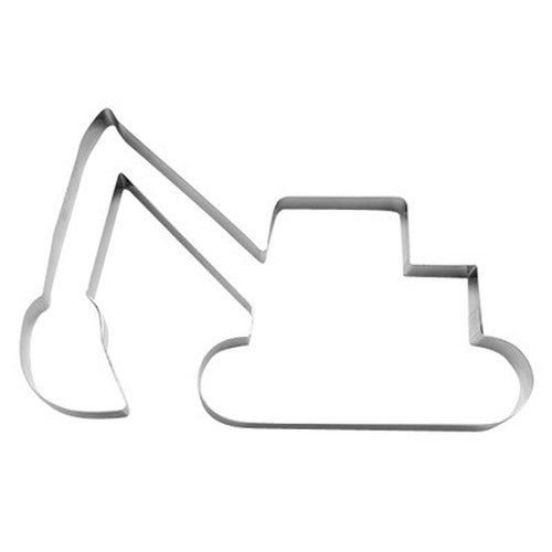 Excavator Cookie Cutter 16cm Extra Large-Cookie Cutter Shop Australia