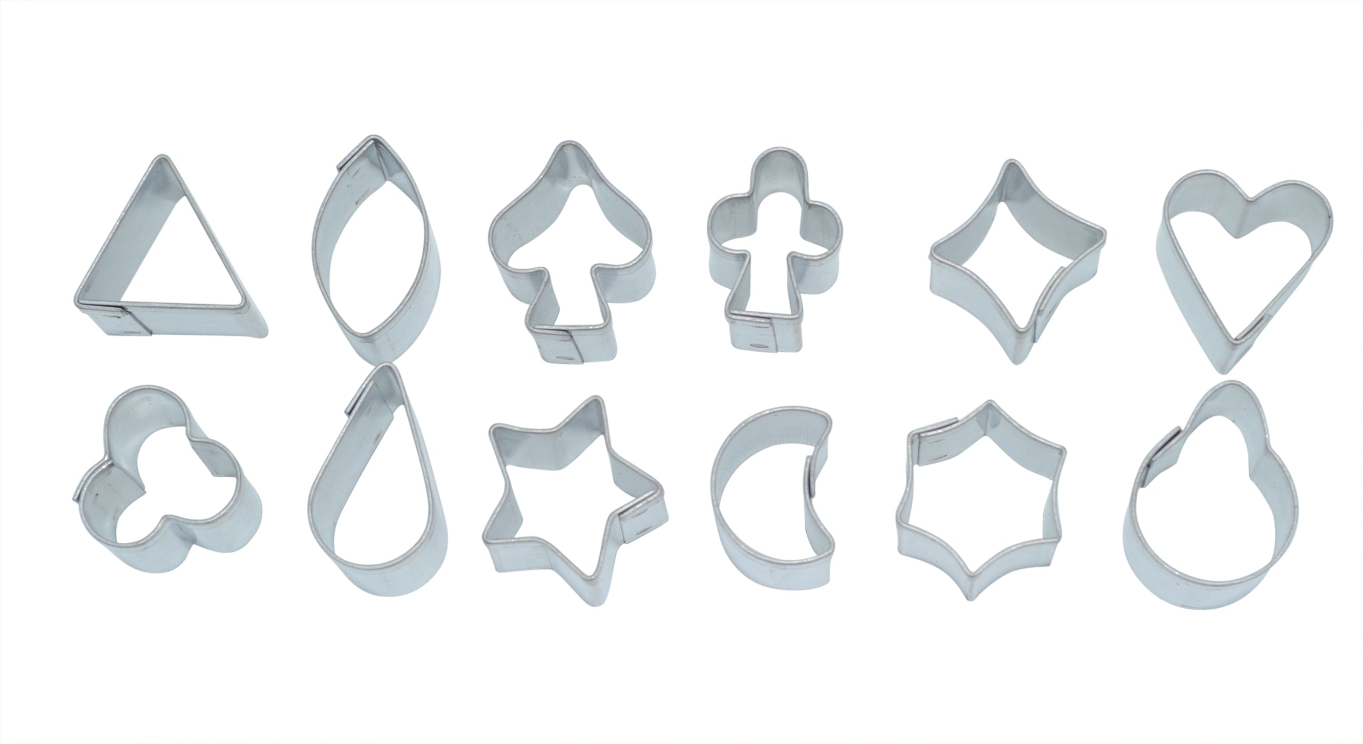 Extra Mini Shapes Aspic Cookie Cutter Set of 12-Cookie Cutter Shop Australia
