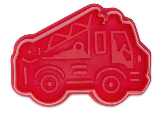 Fire Engine Cookie Cutter Stamp and Ejector | Cookie Cutter shop Australia