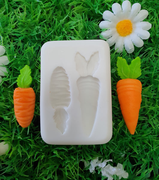 Carrot Fondant Mould | Cookie Cutter Shop Australia