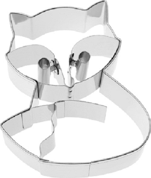 Fox Cookie Cutter with Embossed Detail 7cm | Cookie Cutter Shop Australia