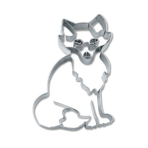Fox Cookie Cutter with Embossed Detail | Cookie Cutter Shop Australia