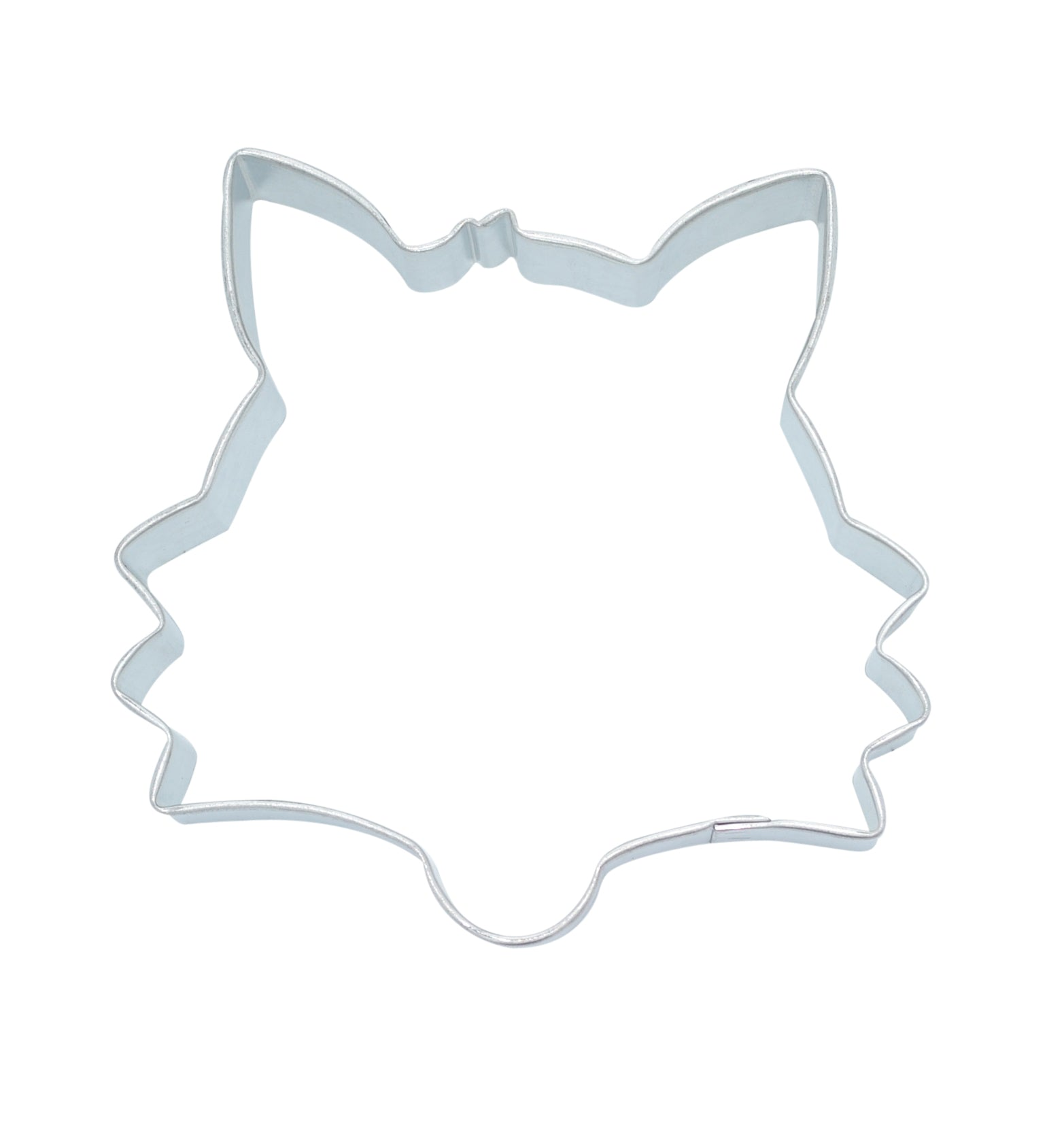 Fox Face 8.5cm Cookie Cutter-Cookie Cutter Shop Australia