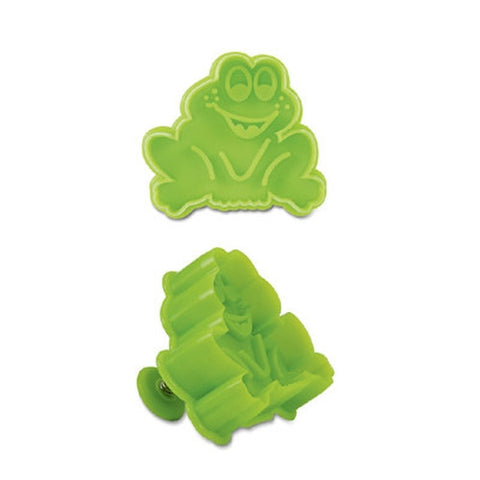 Frog Plastic Embossed 5cm Cookie Cutter-Cookie Cutter Shop Australia