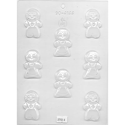 Gingerbread People 5cm Chocolate Mould-Cookie Cutter Shop Australia