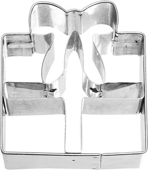Gift with Internal Detail 5.5cm Cookie Cutter-Cookie Cutter Shop Australia