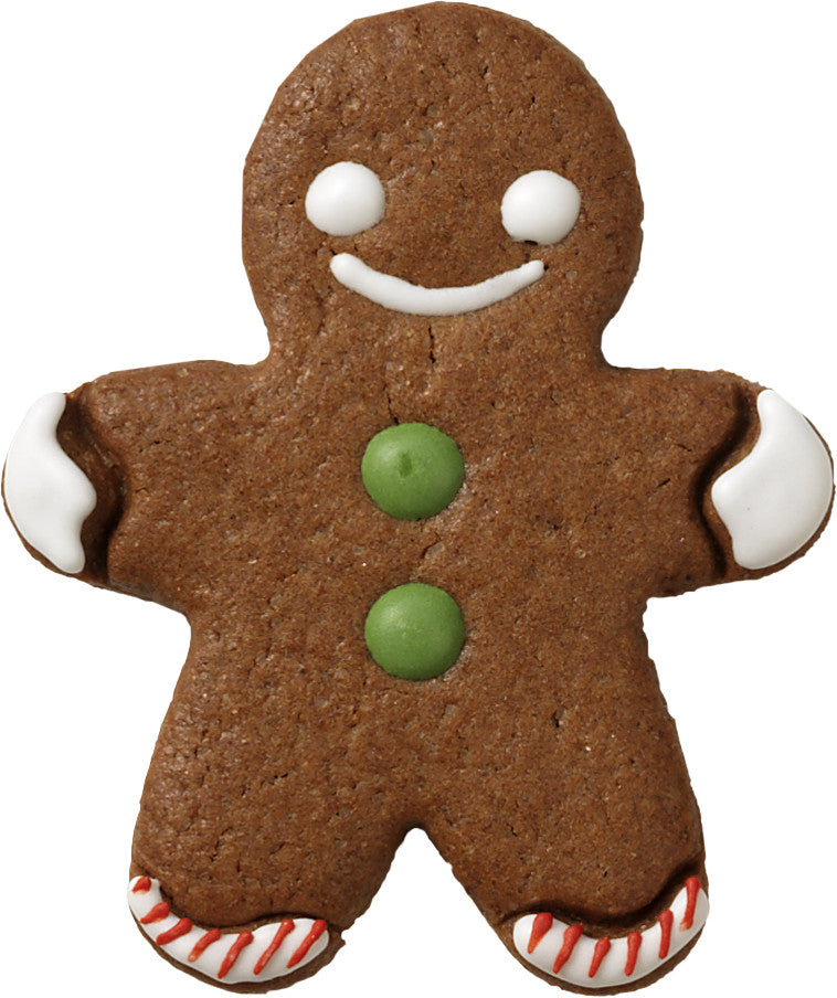 Gingerbread Man with Internal Detail 7.5cm Cookie Cutter-Cookie Cutter Shop Australia