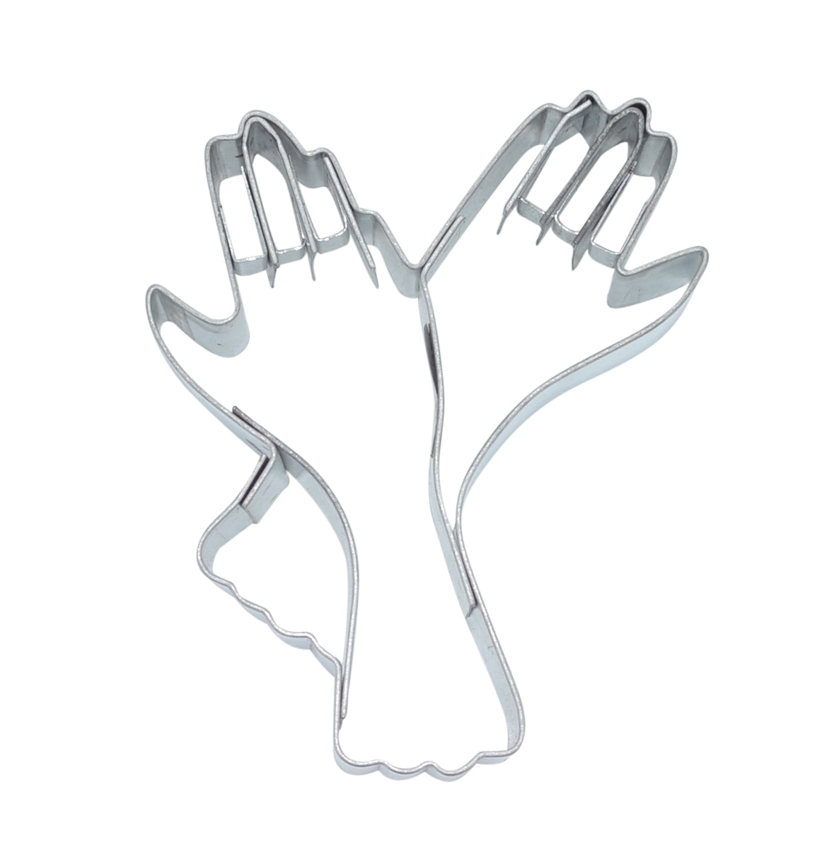 Gloves 7cm Cookie Cutter With Embossed Details-Cookie Cutter Shop Australia
