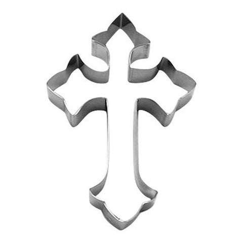 Gothic Cross 10cm Cookie Cutter-Cookie Cutter Shop Australia