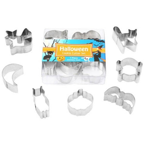 Halloween Set of 7 Mini Cookie Cutters-Cookie Cutter Shop Australia