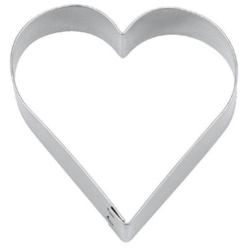 Heart 12.5cm Cookie Cutter-Cookie Cutter Shop Australia